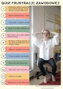 quiz frustracji zawodowej
